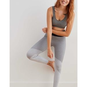 Aerie Seamless Color Block High Waisted Legging